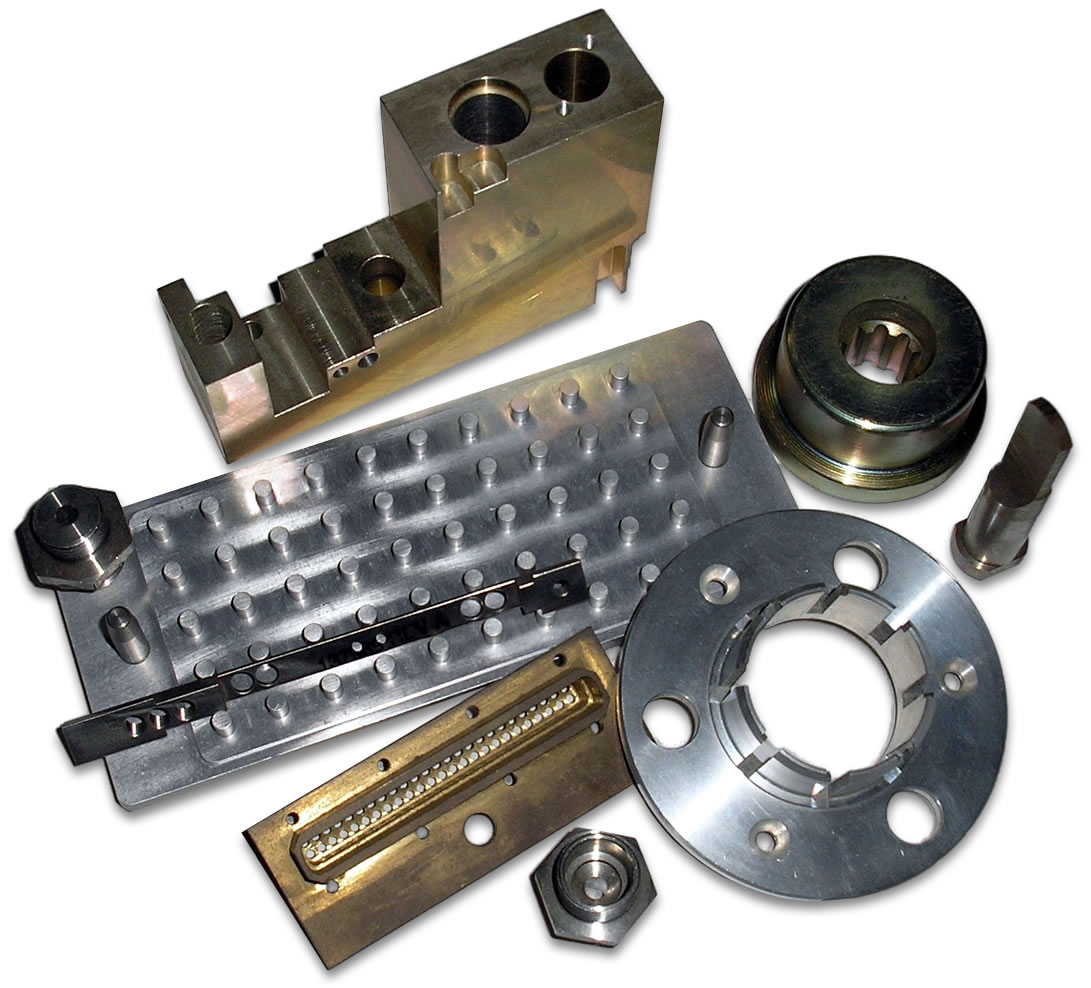 Machined Parts - About